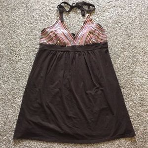 Victoria secret sequin bra top dress size large